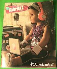American Girl Catalog January 2017 Girl of the Year Gabriella Mcbride