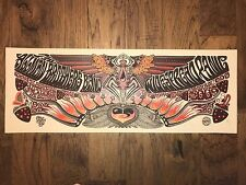2009 Widespread Panic & Allman Bros Art Print Poster Jeff Wood Signed 67/288 AE