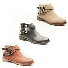 WOMENS LADIES CHELSEA STYLE LOW HIGH HEEL ANKLE BOOTS BOOTEIS SHOES SIZE 3-8