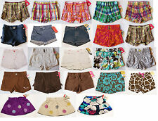 NWT Girls Shorts or Skirt Oshkosh Carters NEW 12m 18m 24m 2t 3t 4t Skort Skooter