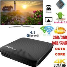 M8S PRO Android 7.1 DDR4 Octa Core S912 Smart TV BOX Dual WIFI 4K Movies BT4.1