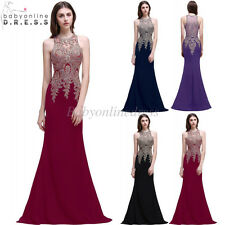 Long Evening Dress Formal Prom Dresses Wedding Party Bridesmaid Cocktail Dress