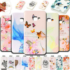 For Samsung Galaxy TPU Skin Case Gel Soft Embossing Embossed Cover Silicone Back