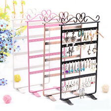 Delicate Earrings Ear Studs Necklace Jewelry Display Rack Metal Stand Holder