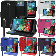 Protective Cover For Motorola RAZR i XT890 Phone Briefcase Flip Case