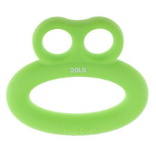 Silicone Hand Strength Grip Rings Fitness Wrist Forearm Exerciser Training Tool