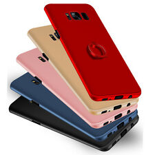 Ultra Thin Slim Key Ring Case PC Back Cover For iPhone Samsung Huawei Xiao OPPO