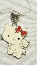 Hello Kitty & Baby Detailed Charm Very Cute Necklace