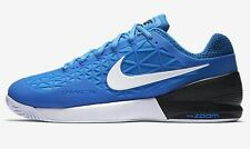 Nike COURT ZOOM CAGE-2 MEN'S TENNIS SHOES,BLUE/BLACK/WHITE- Size US 7,8,8.5 Or 9