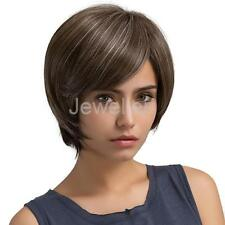 5 Colour Natural Straight Short Hair Wigs Women's Fashion Wig Heat Resistant