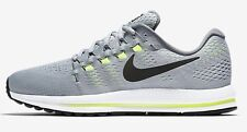 Nike AIR ZOOM VOMERO-12 MEN'S RUNNING SHOES, GREY/BLACK- Size US 8.5, 9 Or 9.5