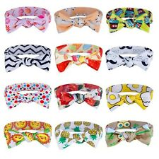 Toddler Girl Kids Baby Miter Hair band Headbands Stretch Knot Head Wrap Headwear
