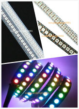 3.2FT 1M 144 Leds WS2811  WS2812B 5050 RGB LED Strip Indivadual Addressable Lamp
