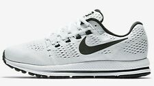 Nike AIR ZOOM VOMERO-12 MEN'S RUNNING SHOES, WHITE/BLACK- Size US 8.5, 9 Or 9.5