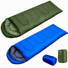 Outdoor Lightweight Travel Hiking Camping Envelope Sleeping Bag w/ Carrying Case