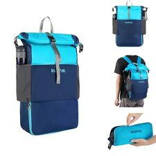 FOLDABLE 30L HIKING TRAVEL BACKPACK WATER RESISTANT DAYPACK RUCKSACK SCHOOL BAG