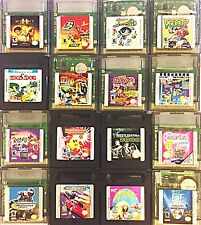 CHOOSE YOUR OWN Nintendo Gameboy Color Game (GBC, GBA GBA SP)