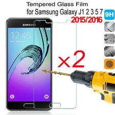 2Pcs 9H Tempered Glass Film Screen Protector For Samsung GALAXY A5 2017 J5 J7