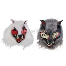 Werewolf Latex Mask Halloween Fancy Dress Scary Animal Masquerade Costume Party