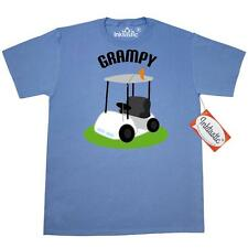 Inktastic Grampy Golf Cart Golfing Fathers Day Gift T-Shirt Grandfather Golfer