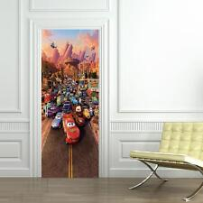 Cars Movie 3 Mcqueen DOOR WRAP Decal Sticker Wall Personalized NAME Disney D27
