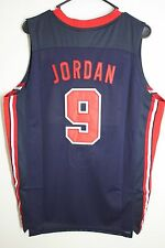 Michael Jordan Dream Team 9 Blue USA Basketball 1992 Throwback Swingman Jersey