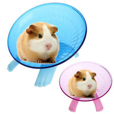 "Running Flying Saucer Exercise Wheel Hamster Gerbil Cage toy 7.09"" Pet  spinner"