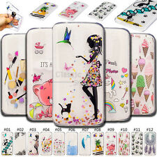 For LG Motorola Phone Case Cute Soft Shockproof TPU Painted Skin Rubber Cover