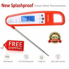 BBQ Meat Thermometer Digital Kitchen Cooking Thermometer Smoker Instant Read