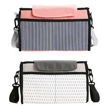 Baby Diaper Bag Nappy Organizer Stroller Changing Mummy Hanging Handbag Storage