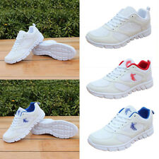 Men Boys Lace Up Sport Running Gym Breathable Athletic Shoes Sneakers Trainers