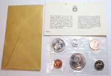 1964 Royal Canadian Mint Proof-Like 6 coin set, silver - with Envelope