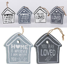 House Bird Wooden Wall Sign Plaque Wall Decor Rustic Hanging Craft Love Saying