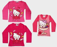 Girls Hello Kitty Long Sleeve T-Shirts (Age 2 years to 6 years)