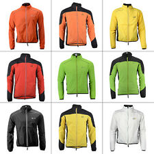 Mens Womens Quickdry Bike Cycling Windproof Jacket Bicycle Riding Wind Rain Coat