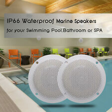 4'' 2 Way White Marine Boat Waterproof Speakers for Outdoor Marine speakers