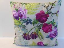 Designers Guild  floral 100% Cotton Fabric Tulipai Linen Cushion Cover