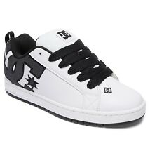 DC SHOES SKATE COURT GRAFFIK SE WHITE CHARCOAL 300927 WC5 MENS UK SIZES 7 - 13