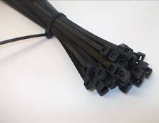 Black Strong Reuseable Releaseable Cable Ties Cable Tidy Wrap Nylon Straps