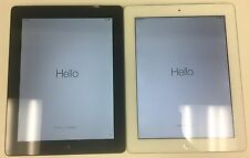 Apple iPad 4th Generation a1459 RETINA 16GB, Wi-Fi + AT&T Various Conditions
