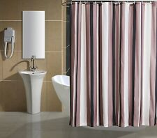 Waterproof Quick-dry Fabric Luxury Thickened Bathroom Shower Curtain with Hooks