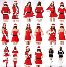 Christmas Cosplay Adult Costume Fancy Dress Womens Ladies Sexy Xmas Party Gifts