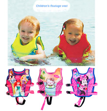 2-10Y Baby Float Vest Swim Trainer Kids Girls Vest Jacket Inflatable Accessories