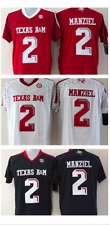 Replica Johnny Manziel Texas A&M Jersey. Black, Red, or White! Sizes S-3XL