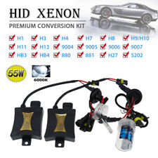 XENON LIGHT 35W SLIM HID Conversion KIT H1/3/4/7 H10 H11 H13 9004 9005 9006 9007