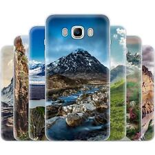 mobilefox Mountains TPU Silicone Cases Thin Case for Samsung Galaxy Note / S