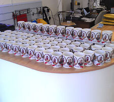 36 Personalised Mugs Wedding Favours Word Art Thank You Top Table