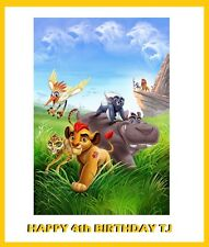 Lion Guard Edible image Cake topper decoration