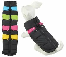 Small Waterproof Pet Dog Coat Jacket Winter Quilted Padded Puffer Puffa