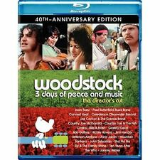 Woodstock: Three Days of Peace  Music (Blu-ray Disc, 2010, 2-Disc Set, Directors